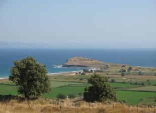 Γενική άποψη του Οβριοκαστρου αρχαίας Άντισσας