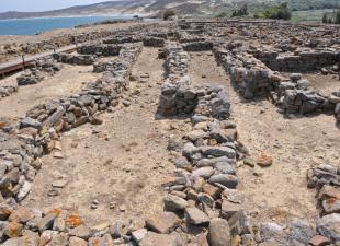 Το «Βουλευτήριον» στο νότιο τμήμα του αρχαιολογικού χώρου.